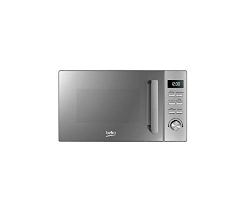Beko Forno a Microonde MGF20210X 20L Horno, 800 W, Acero Inoxidable