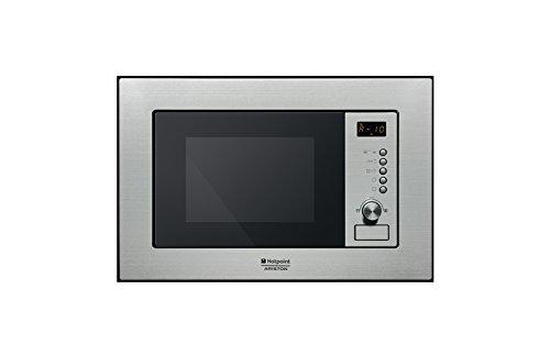 Hotpoint FMO 122.1 X 20L 800W Acero inoxidable - Microondas (20 L, 800 W, Botones, Giratorio, Acero inoxidable, 1200 W)