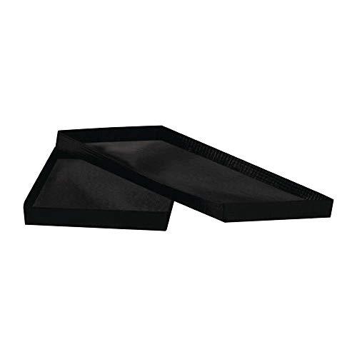 Menumaster FC492 SB10S - Cesta de malla antiadherente para horno de microondas combinado CT356, CT357-1PH/3PH, CT685, CT687-1PH/3PH, 25 mm x 140 mm x 279 mm, color negro, paquete de 2