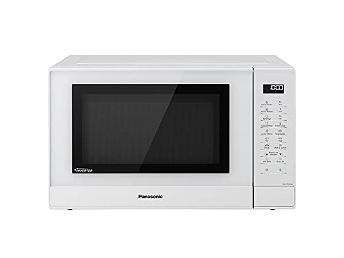 Panasonic NN-ST45 Encimera Solo - Microondas (Encimera, Solo microondas, 32 L, 1000 W, Tocar, Blanco)