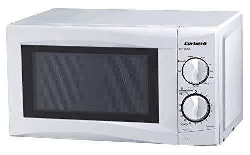 CORBERO MICROONDAS CMICG250GW 20L 700W GRILLqc, Negro