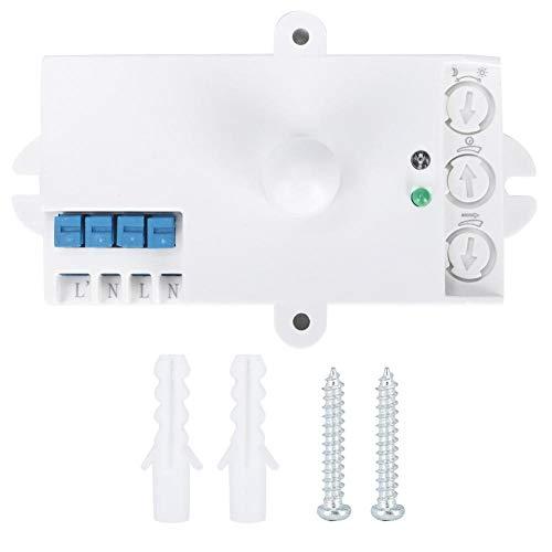 Detector de Movimiento por Radar, Sensor de Radar de microondas Inteligente, Sensor de Radar de microondas Detector de Movimiento AC220-240V
