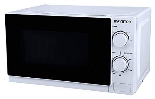 MICRONDAS INFINITON MW-0115 (20L, BLANCO, Potencia 700W, Capacidad 20L, Plato 25,5 cm, Descongelador)