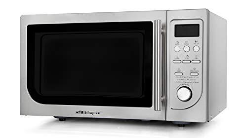 Orbegozo MIG 2525 - Microondas con grill, 25 L, 9 Menús, Temporizador, 8 Niveles de Potencia, 900 W