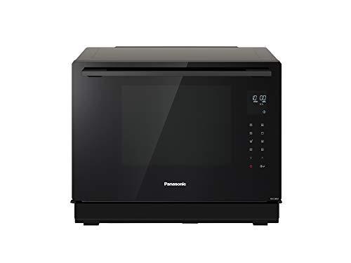 Panasonic NN-CS88LBEPG Horno combinado de vapor 4 en 1 con vapor, microondas, grill y convección (Tecnología Inverter, 31 L, 36 Programas Automáticos, Cocción en 2 Etapas, Menú Infantil)- Negro