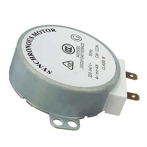 Bajo nivel de ruido AC 220V-240V 4RPM 4W Motor síncrono for TYJ50-8A7 Bandeja giratoria del horno de microondas A0NC