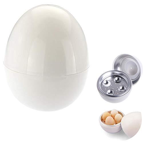 Ouken Caldera microondas Huevo microondas para cocinar Huevos Mini portátil de Huevo rápida cocción al Vapor Herramientas Copa Cocina para el Desayuno