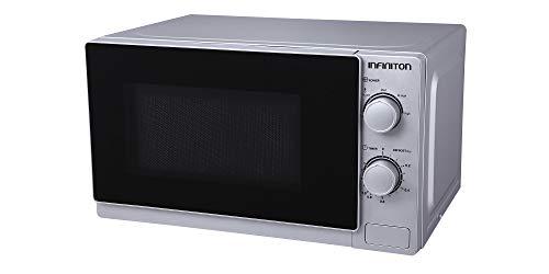 MICRONDAS INFINITON MW-0120X (20L, SILVER, Potencia 700W, Capacidad 20L, Plato 25,5 cm, Descongelador)