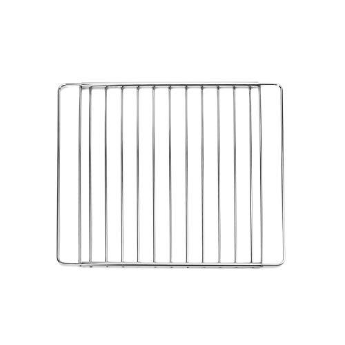 MIRTUX Rejilla/Parrilla para Horno. Modelo Universal. Ancho: 32 cms y Largo Extensible/Ajustable Desde 35 cm (Medida mínima) hasta 56 cm (Medida máxima).