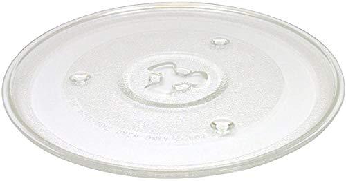 Plato de microondas, fijación DL. Diámetro 27,De Longhi MJ1020, MI1018, MW450, MW455 SHARP R208, BIMAR B823.