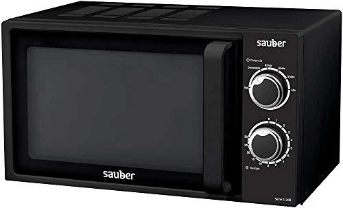 Sauber - Microondas SERIE 3-20B - 20 litros - Color Negro
