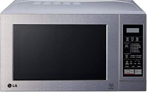 LG MH6044V - Microondas grill, 20 litros, acero inox antihuellas