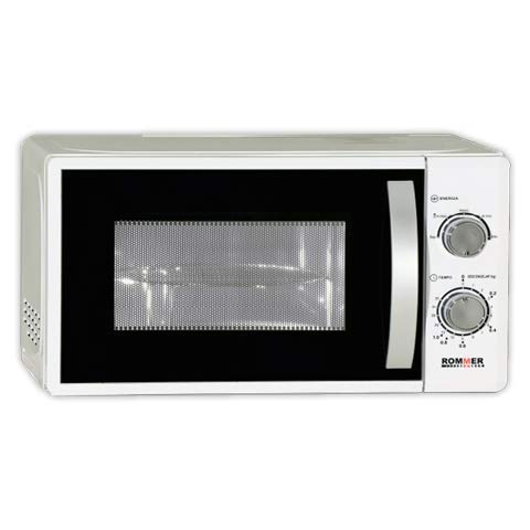 DOJA Microondas ROMMER M700 BL/- | 20 l Blanco | ROMMER | Color Blanco | Sin Grill | 20 litros
