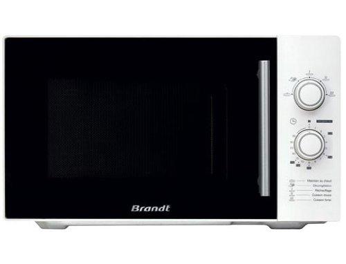 Brandt SM2602W, 1450 W, 230V, 50Hz, Blanco, 513 x 425 x 305 mm, 14000 g, 328 x 344 x 226 mm - Microondas