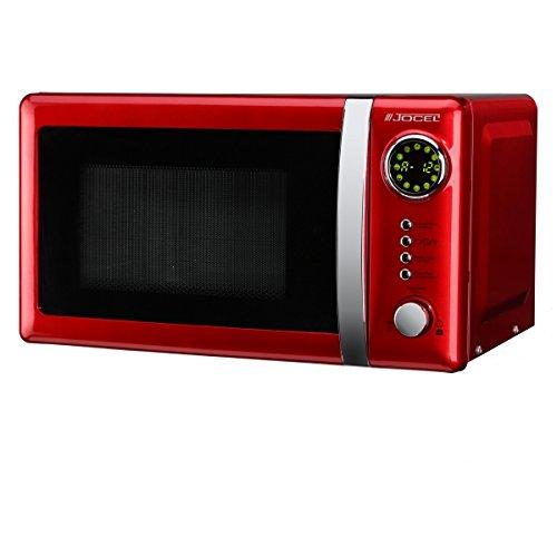 Jocel JMO001344 Microondas rojo, 700 W, Aluminio