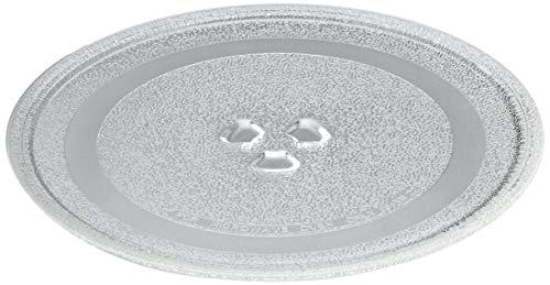 Universal Microondas Plato Giratorio Placa de Cristal con 3 Aparatos, de 245 mm
