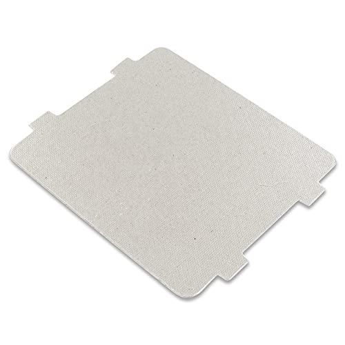 DL-pro Conductor de microondas 118 x 99 mm, cubierta de conductor de onda hueca para casi todos los microondas, como por ejemplo: Bosch, Siemens, Whirlpool, Bauknecht, Sharp Candy Hoover etc.