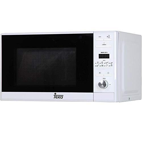 Teka MWE 225 G Microondas con grill, 1050 W, Otro, Blanco