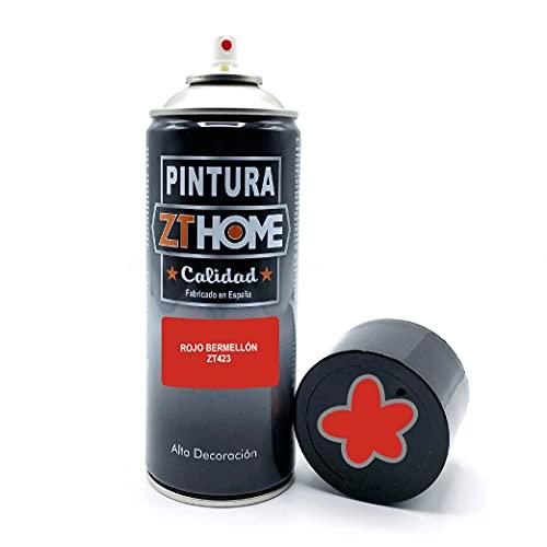Pintura Spray Rojo Bermejon 400ml imprimacion para madera, metal, ceramica, plasticos / Pinta todo tipo de cosas y superficies Radiadores, bicicleta, coche, plasticos, microondas, graffiti - RAL 3028