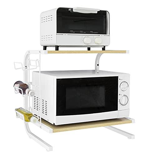 SoBuy FRG092-N,Soporte para microondas, Estante, estantería de Cocina, miniestante,ES