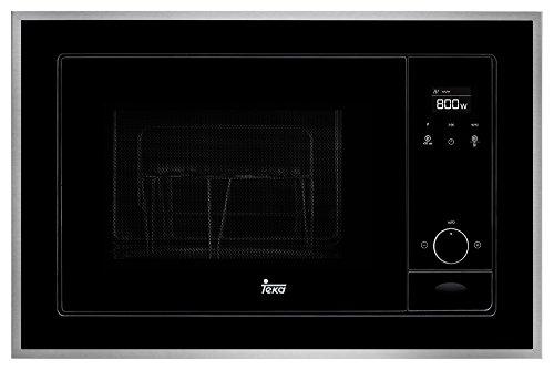Teka ML 820 BIS Microondas con grill, 1100 W, 20 litros, Otro, INOX