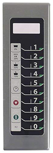 ACP - Unidad de teclado para microondas DFS11EA, RFS518TS, DFS18E, MFS18TS Menumaster