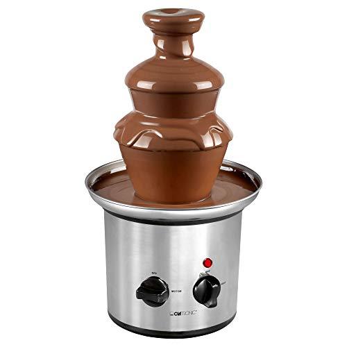 Clatronic SKB 3248 Fuente de Chocolate, 170 W, Acero Inoxidable, Plateado