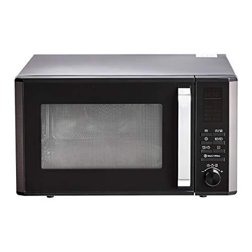 Amazon Basics – Microondas digital de mesa, horno de convección y grill, 25l, 900W