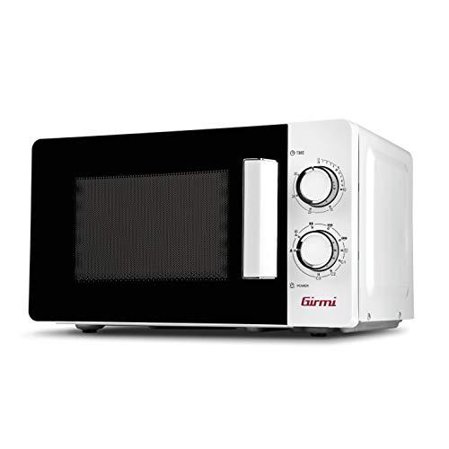 Girmi FM0401 Horno Microondas y Grill, 800 W, 20 Litros, Blanco