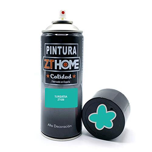Pintura Spray Verde Turquesa Claro 400ml imprimacion para madera, metal, ceramica, plasticos / Pinta todo tipo de cosas y superficies Radiadores, bicicleta, coche, plasticos, microondas, graffiti