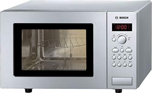 Bosch HMT75G451 - Microondas, Capacidad 17 L, Acero Inoxidable, Libre Instalación, 46 x 29 cm
