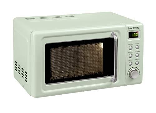Innoliving INN861G - Horno microondas 20 litros, 700 W, acero