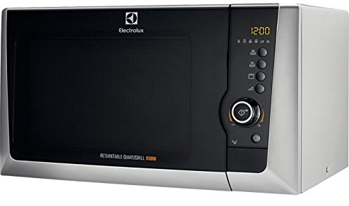Electrolux EMS28201OS Encimera 28L 900W Plata - Microondas (Encimera, 28 L, 900 W, Giratorio, Tocar, Plata, 1000 W)