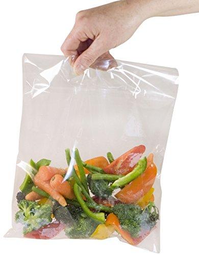 Toastabags Bolsas para cocinar al Vapor en microondas, Color Transparente, 50 Unidades, tamaño Mediano